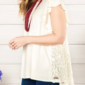 New Matilda Jane shirt- cream